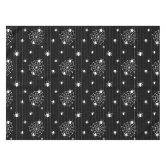 Spiders and web background tablecloth