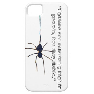 Spiders are high in Protien iPhone 5 Covers