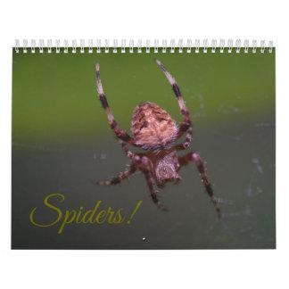 Spiders! Calendar