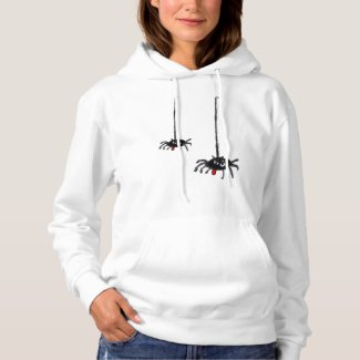 Spiders Cartoon Hoodie