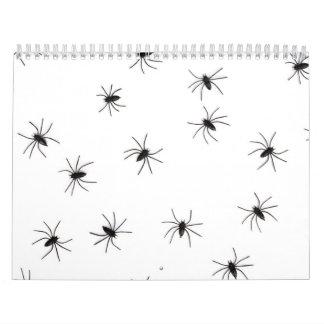 Spiders flock (group) calendar