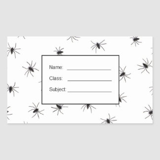 Spiders flock (group) stickers