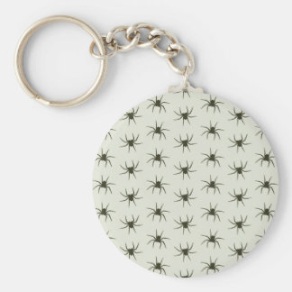 Spiders grey keychain