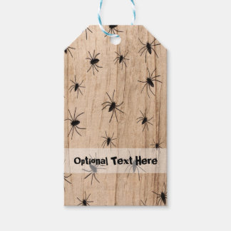 Spiders Halloween Gift Tag