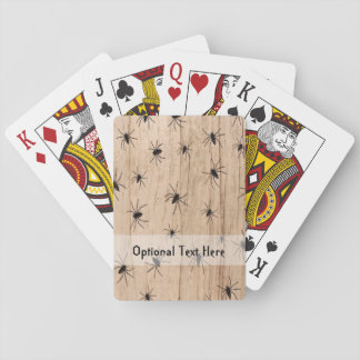 Spiders Halloween Playing Cards