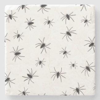 Spiders Halloween Stone Coaster