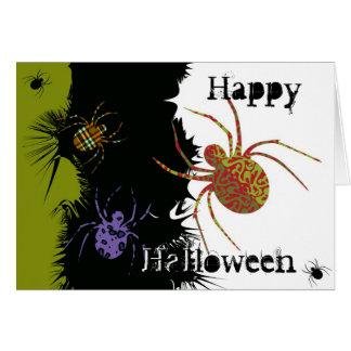 Spiders 'N Patterns Card