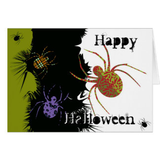 Spiders 'N Patterns Cards