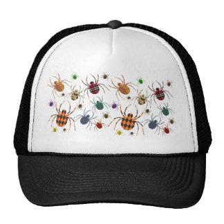 Spiders N Patterns Mesh Hats