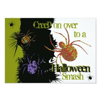 Spiders 'N Patterns Custom Invites