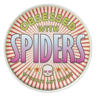 Spiders Obsessed R Plate