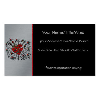 Spiders of Love Business Card