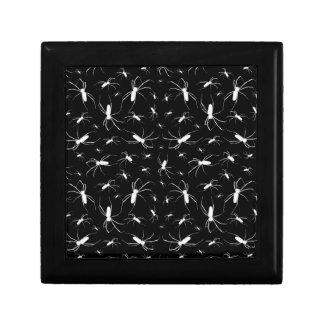 Spiders Pattern Print Jewelry Box