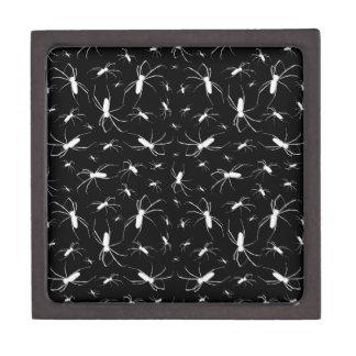 Spiders Pattern Print Keepsake Box