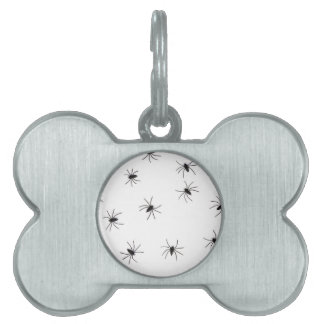 spiders pet tag
