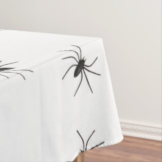 spiders tablecloth table cloth
