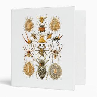 Spiders Vinyl Binders