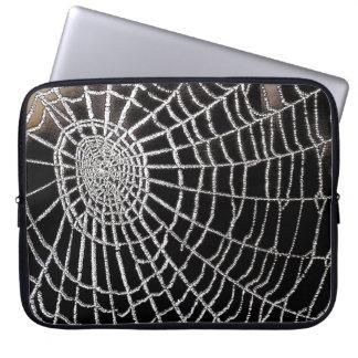 Spider's Web Computer Sleeve