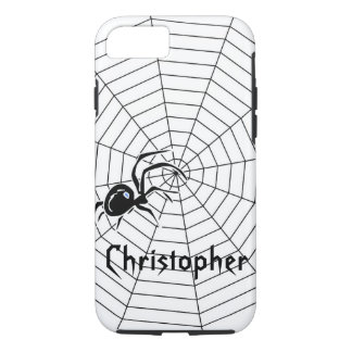Spiders Web Just Add Name iPhone 7 Case