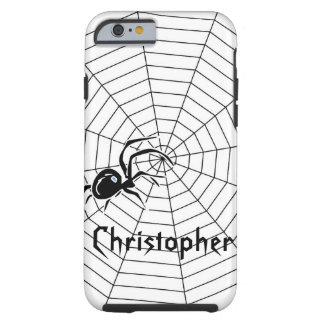 Spiders Web Just Add Name Tough iPhone 6 Case