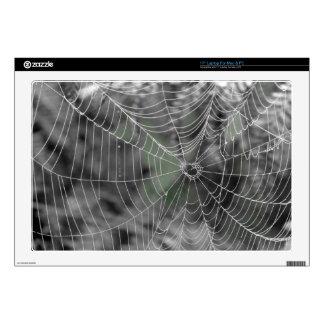 SPIDERS WEB LAPTOP DECALS