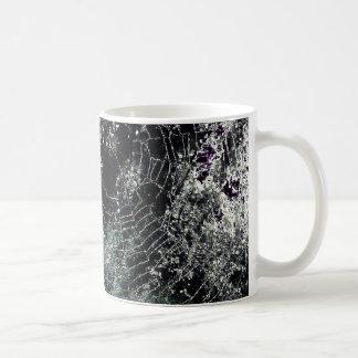 Spider's Web Print Coffee Cup Coffee Mugs