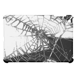Spiderweb - black and white case for the iPad mini