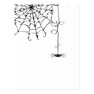 Spiderweb BONITO Tarjetas Postales