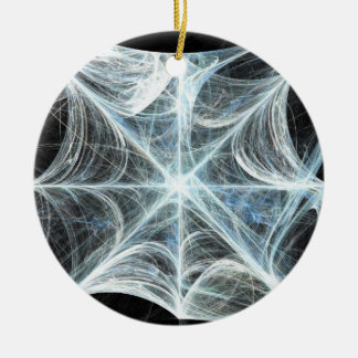 Spiderweb Ceramic Ornament