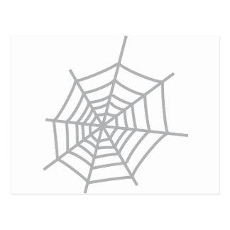 spiderweb de la telaraña de la araña postal