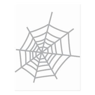 spiderweb de la telaraña de la araña postales
