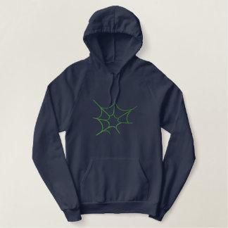 Spiderweb Embroidered Hoodie