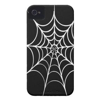 Spiderweb espeluznante iPhone 4 cobertura
