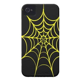 Spiderweb espeluznante Case-Mate iPhone 4 coberturas