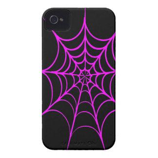Spiderweb espeluznante iPhone 4 cárcasas