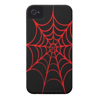 Spiderweb espeluznante iPhone 4 Case-Mate coberturas