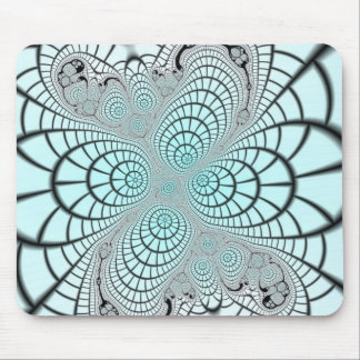Spiderweb Fractal Mouse Pad