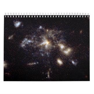 Spiderweb Galaxy Detail Wall Calendars