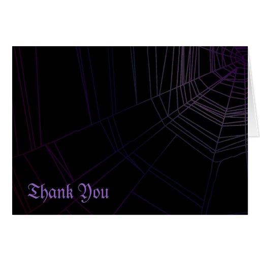 Spiderweb Greeting Cards