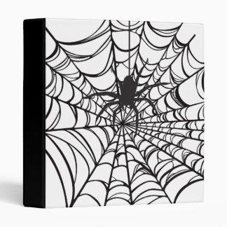 Spiderweb Halloween Binder