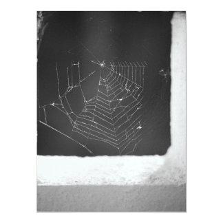 """Spiderweb Invitación 6.5"""" X 8.75"""""""