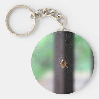 Spiderweb Keychain