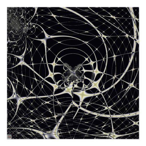 Spiderweb mágico posters