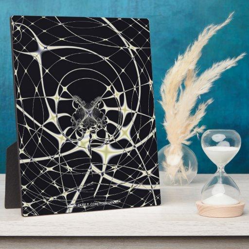 Spiderweb mágico placas de plastico