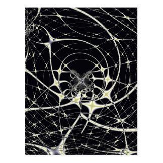 Spiderweb mágico postal