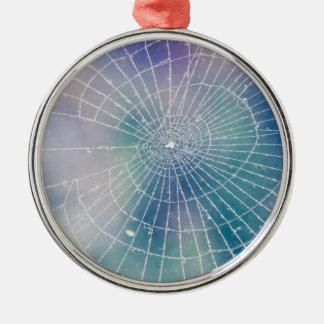 Spiderweb Metal Ornament
