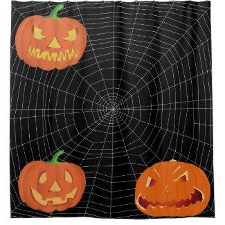 Spiderweb on Black...