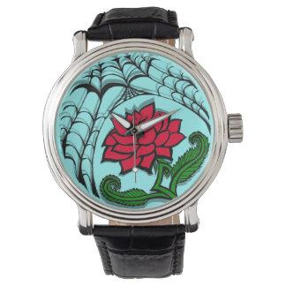 Spiderweb Rose Watch
