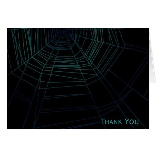 Spiderweb Stationery Note Card
