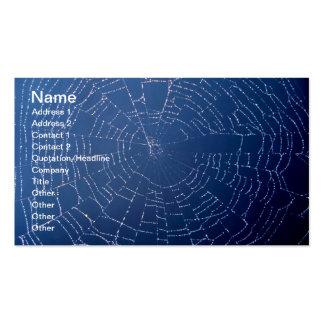 Spiderweb Tarjetas De Visita